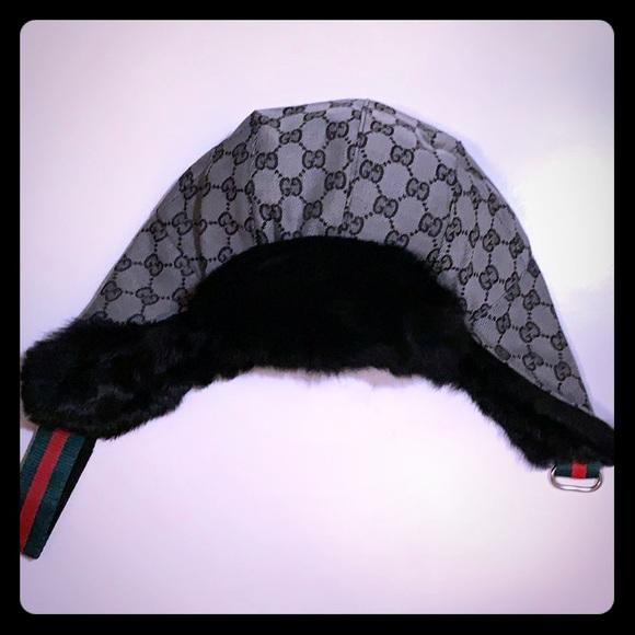 bcd395503 Gucci winter Ushanka hat